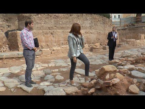 Las excavaciones de la Plaza de la Merced siguen asombrando