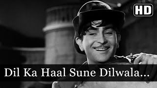 Dil Ka Haal Sune Dilwala - Raj Kapoor - Shree 420   - YouTube