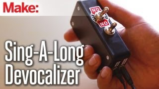 Weekend Projects - Sing-a-long Song Devocalizer