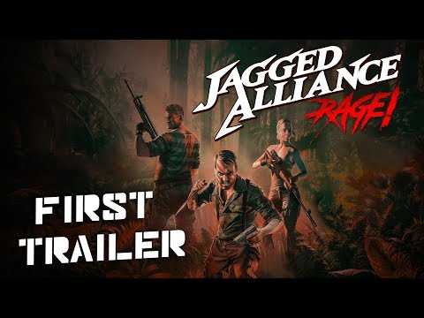 Jagged Alliance Rage! - Official Announcement Trailer thumbnail