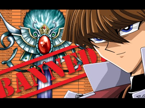 My Top 10 Most Hated Banned Yu-Gi-Oh! Cards ~ Kisameunlimited
