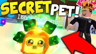 THIS SUPER *SECRET* OVERLORD PET WILL BREAK ROBLOX BUBBLE GUM SIMULATOR!! (Rarest Pet Quest)