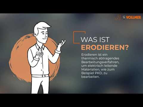 VOLLMER erklärt: Erodieren