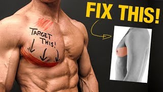 The LOWER Chest Solution (GET DEFINED PECS!)