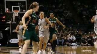 Смотреть онлайн Впечатляющая игра баскетболистки Бекки Хэммон