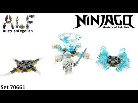 Vidéo LEGO Ninjago 70661 : Toupie Spinjitzu Zane