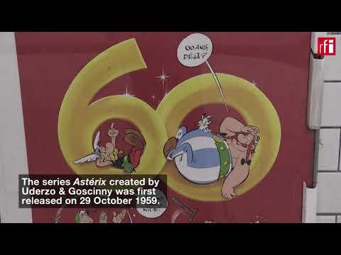 Paris metro marks 60th anniversary of Astérix
