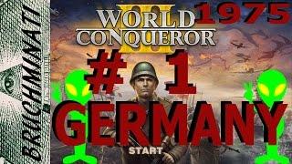 Germany 1975 Alien Conquest #1 World Conqueror 3