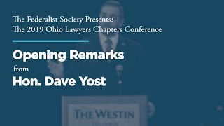 Click to play: Opening Remarks from Hon. Dave Yost