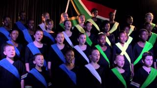 Cantare Children's Choir Sings South Africa's National Anthem
