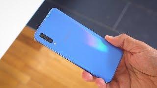 Test: Samsung Galaxy A70 - das Akkuwunder von Samsung | deutsch