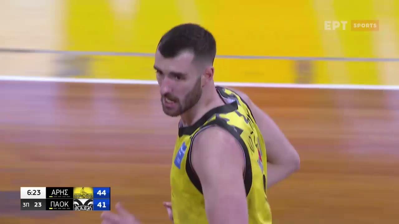 Basket League    ΑΡΗΣ – ΠΑΟΚ 71-77   HIGHLIGHTS    20/03/2021   ΕΡΤ