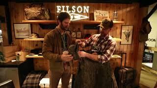 Filson Original Bottomland Mackinaw Wool - Mossy Oak at SHOT Show 2018