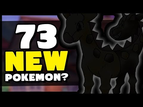 Entire Pokedex POTENTIALLY Leaked - 73 NEW POKEMON in Sword and Shield?