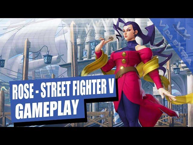Street Fighter V: jugamos con Rose en el arcade y le pateamos el trasero a M. Bison