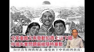 文革重臨又再發動知青上山下鄉 中國失業問題嚴峻隨時暴動