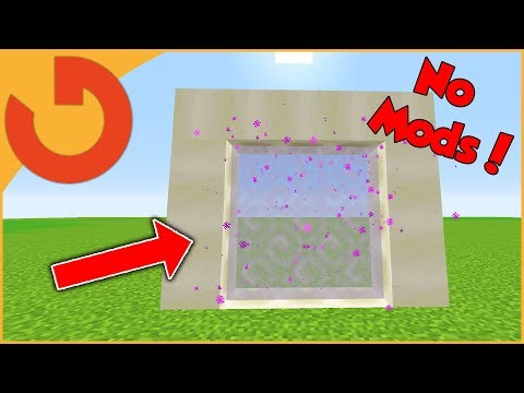 How to Open the GHOST PORTAL in Minecraft 1.13! (No Mods)