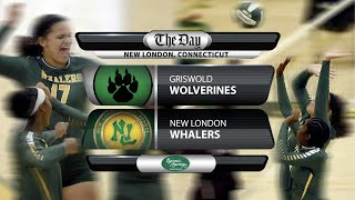 Watch live: Griswold at New London volleyball
