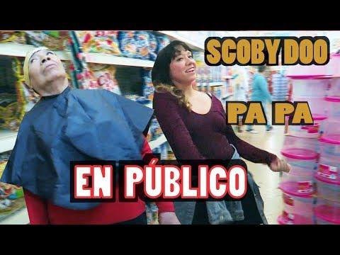 SCOOBY DOO PAPA challenge EN PÚBLICO | Palomitas Flow | Dj Cobra Dembow perreador