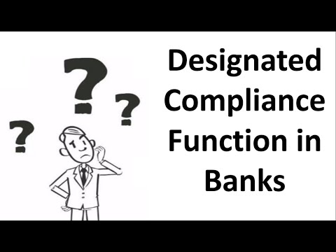 Part 3 : How to set up FCC Compliance Function in Banks/FIs as per ...