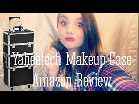 Yaheetech Makeup Trolley Case   Amazon Product Review