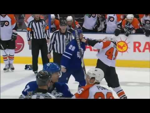 Colton Orr vs. Arron Asham