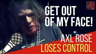 <b>Axl Rose</b> Out Clubbing Cant Find His Car