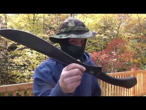 Schrade SCHMBS Machete Review & Test : The Coolest Schrade Ive Tested- Tactical
