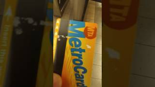 Metro card works after i was told it damaged by a MTA employee