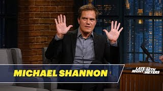 Michael Shannon Dishes on Filming The Shape of Water | Kholo.pk