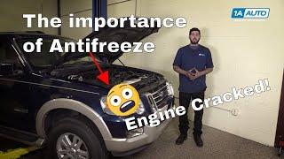 Major Engine Failure: The Importance of Antifreeze