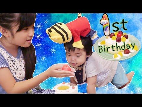Ginta's 1st Birthday★ぎんた1歳バースデー
