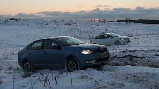 Городские авто в снегу. Кто лучше ?