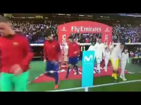 Le classico Barca vs Real Madrid avec petit gimba et kanté