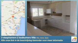 preview picture of video '3 slaapkamers 2 badkamers Villa te Koop in Villa, Catral, Spain'