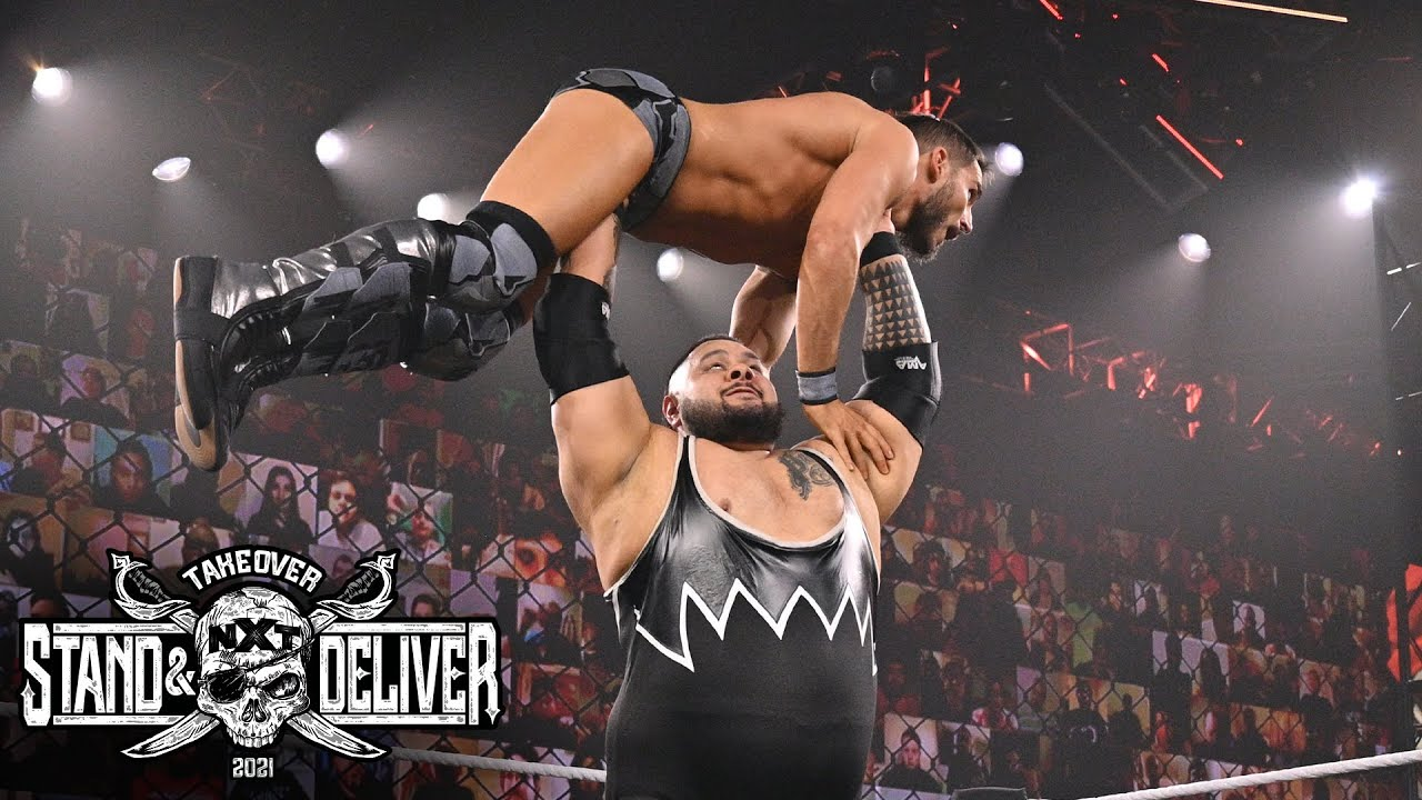 """Bronson Reed Vs. Johnny Gargano At """"Takeover: Stand And Deliver"""" Night Two"""