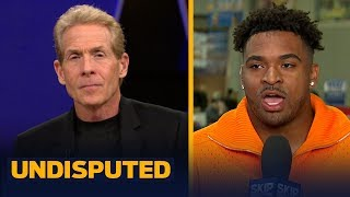 Jamal Adams confronts Skip over comments, talks NY Jets & recruiting Le'Veon Bell | NFL | UNDISPUTED