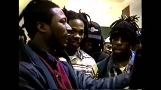 Busta Rhymes Ol Dirty ODB Freestyle  Classic Rare Footage 1993