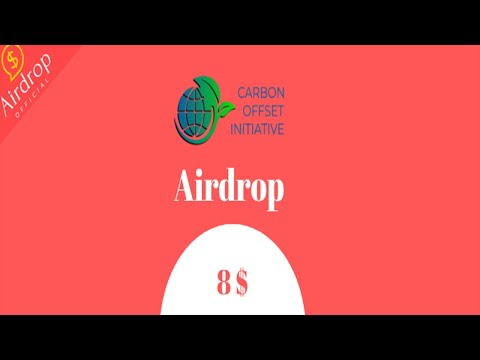 Ganhe $8 Dólares no Airdrop Bot no telegram Carbon Offset Initiative !!!