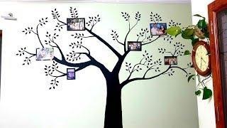 Family Tree Wall Painting At Home
