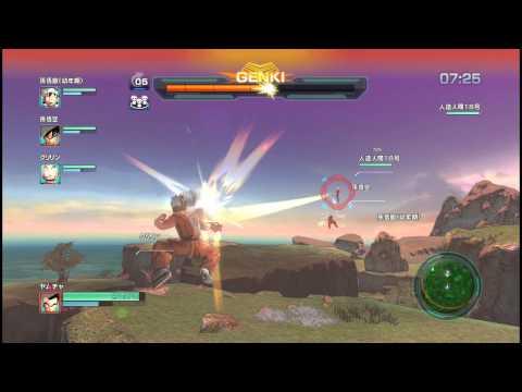 ドラゴンボールZ BATTLE OF Z ヤムチャでセルの完全体化を阻止するぜッ!