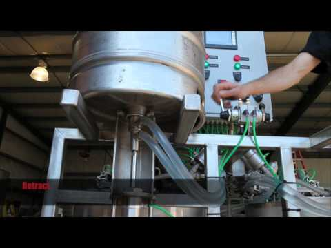 GSS Automatic Keg Washers GSS Semi-Automatic Keg Washer — Dual Head