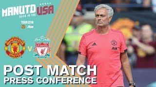 Mourinho's Press Conference   Manchester United v Liverpool   Watch Tour 2018 LIVE on MUTV!