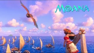 🌊 Moana - We Know the Way (Finale) [Audio Version with Movie Scene + Lyrics on subtitles] HD