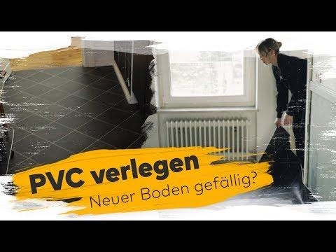 Euer Boden gefällt nicht? – PVC verlegen