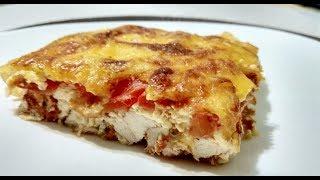 Вкуснейшая куриная запеканка/ПП рецепты