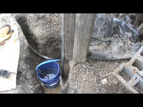 how to defrost a underground water pipe