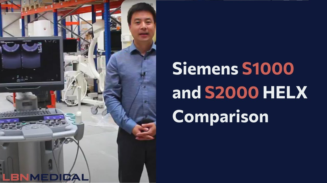 The Siemens Acuson S3000, S2000, and S1000 (Which One to Get)