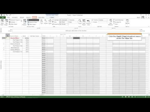 Learn Microsoft Project | MS Project online Training - Part 4 - YouTube