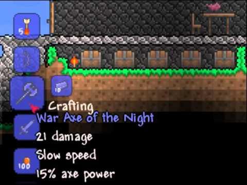 How to Make a Light's Bane: Terraria - смотреть онлайн на